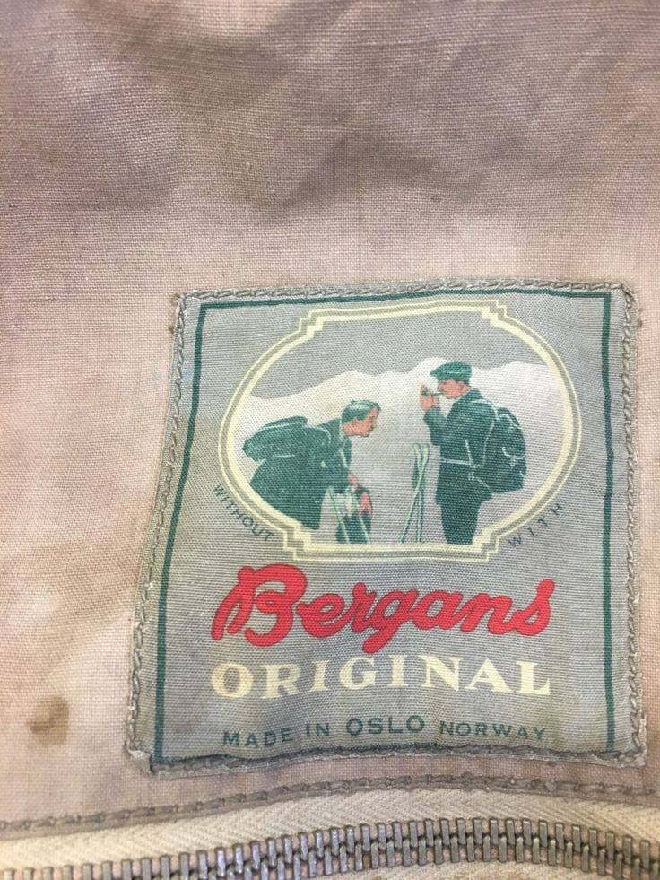 Image result for bergans 1960s