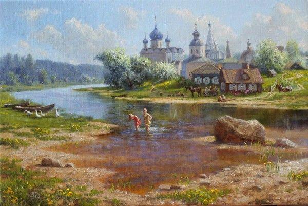 Пейзажи Владимира Жданова.