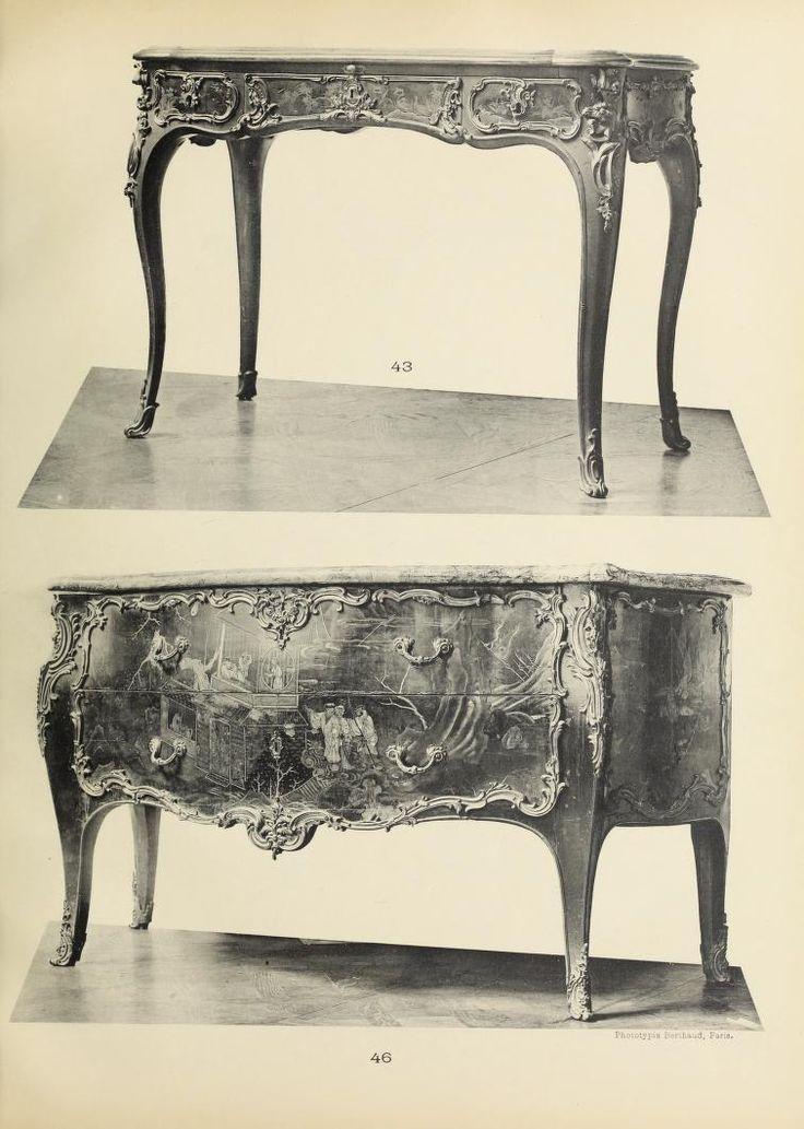Каталог красивой мебели людовика XV и Людовика X...