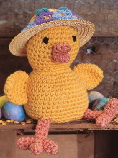 121 best free easter crochetknit patterns images on pinterest crochet accessories crochet gift patterns everyone will know youre ready for easter when you stitch this adorable chunky chic all dressed up for the negle Gallery