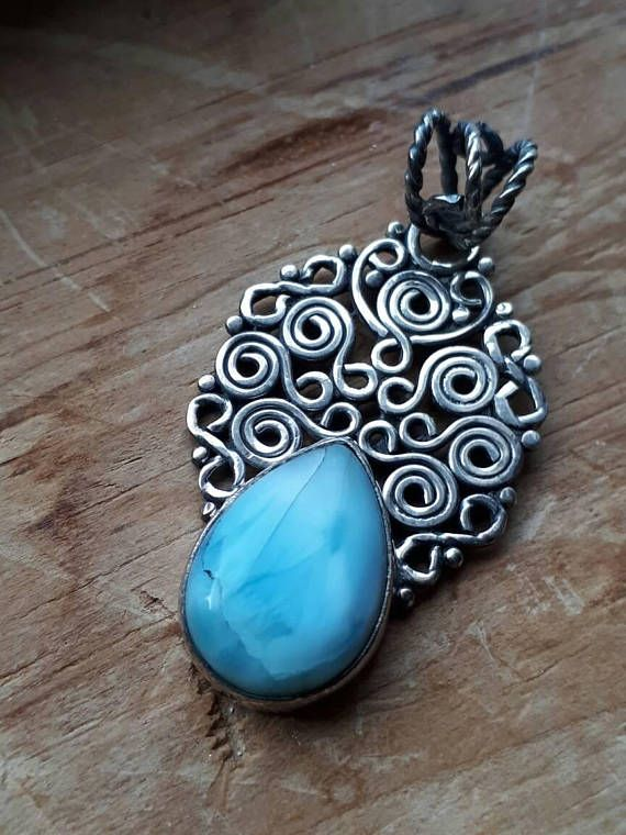 Check out this item in my Etsy shop https://www.etsy.com/ca/listing/545857935/larimar-925-pendant