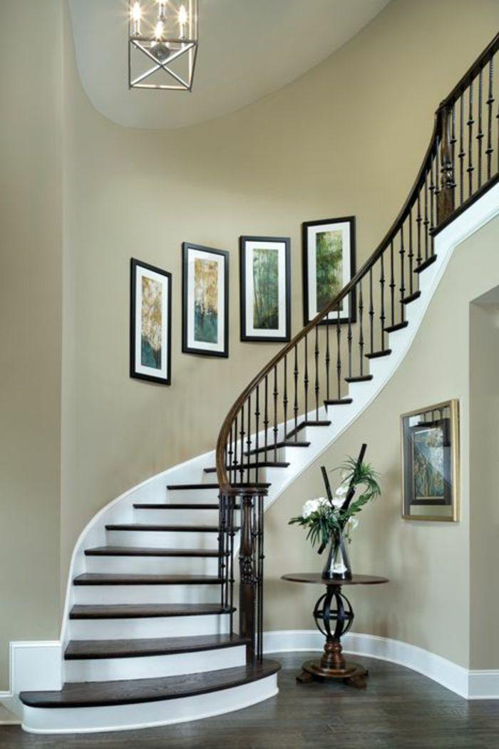 50 Bilder Und Ideen Fur Treppenaufgang Gestalten Treppenaufgang Gestalten Treppendekor Treppenaufgang