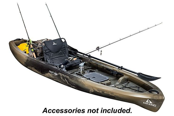Ascend FS12T Sit-On-Top Angler Kayak - Camo | Bass Pro Shops