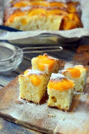 Barackos-túrós sütemény recept