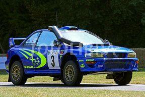 Richard Burns's Subaru, Goodwood (Richard Burn's WRC Subaru on the hill climb at Goodwood Festival of Speed)