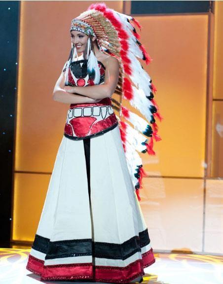 Национальные костюмы канадцев