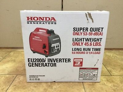 Honda EU2000i 2000W Super Quiet Portable Inverter Generator (S10032634)