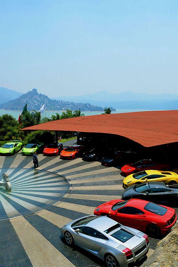 Lamborghini and Ferrari Paradise