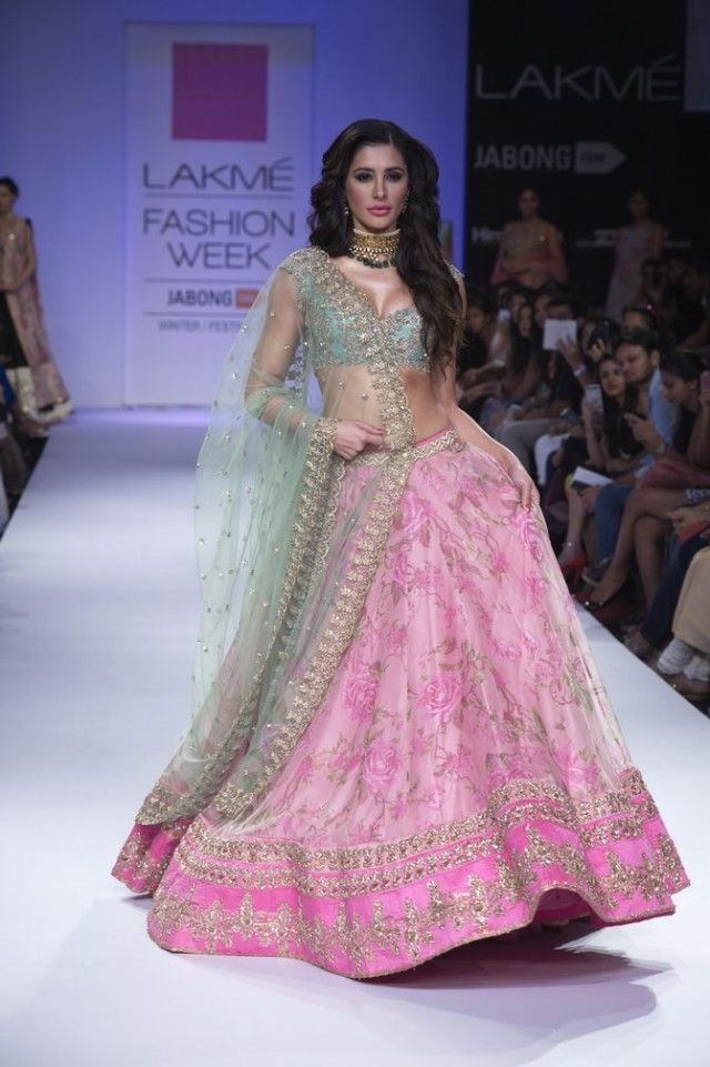 Anushree Reddy's Collection at Lakme Fashion Week 2014