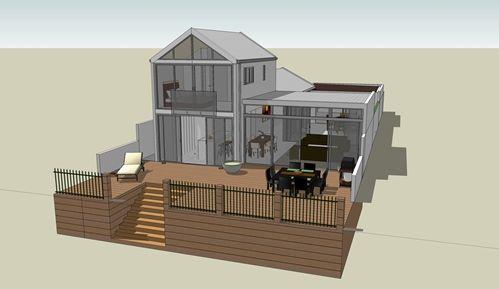 SketchUp Model House 3 Nick Hindson