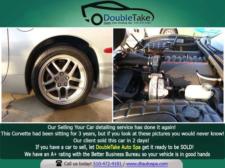 Are you planning to sell your old car? Let DoubleTake Auto Spa get your car ready to be sold! We use special tools to recreate the look of a car. Book your service now! #dtautospa #parents #realtors #smallbiz #professionals #cars #automobile #vehicles #fremontca #mom #dad #kids