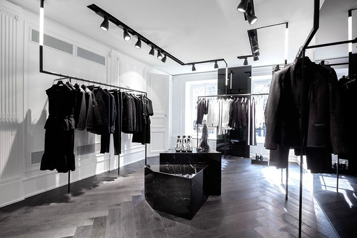 Karl Lagerfeld store by Plajer & Franz Studio and Laird + Partners, Paris