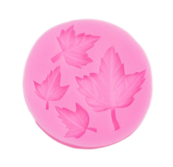 Four leaves reusable silicone mold