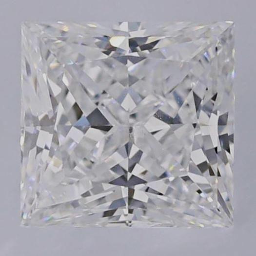 0.90 Carat E-VS1 Princess Cut Diamond