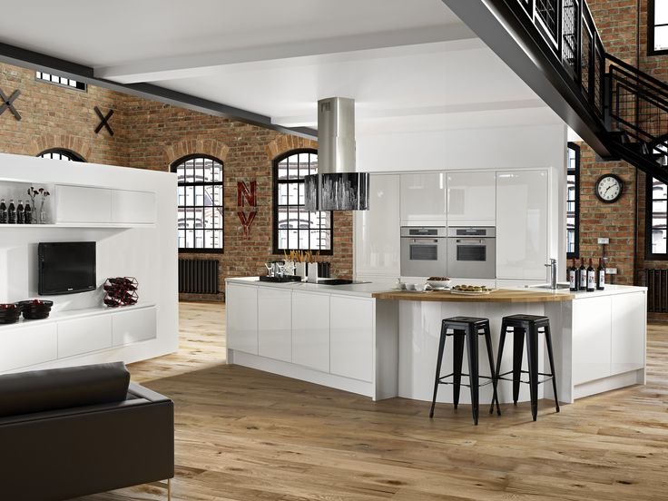 Modern New York White   Simply Stunning From UK Kitchens And Bathrooms    Www.ukkitchensandbathrooms Part 96