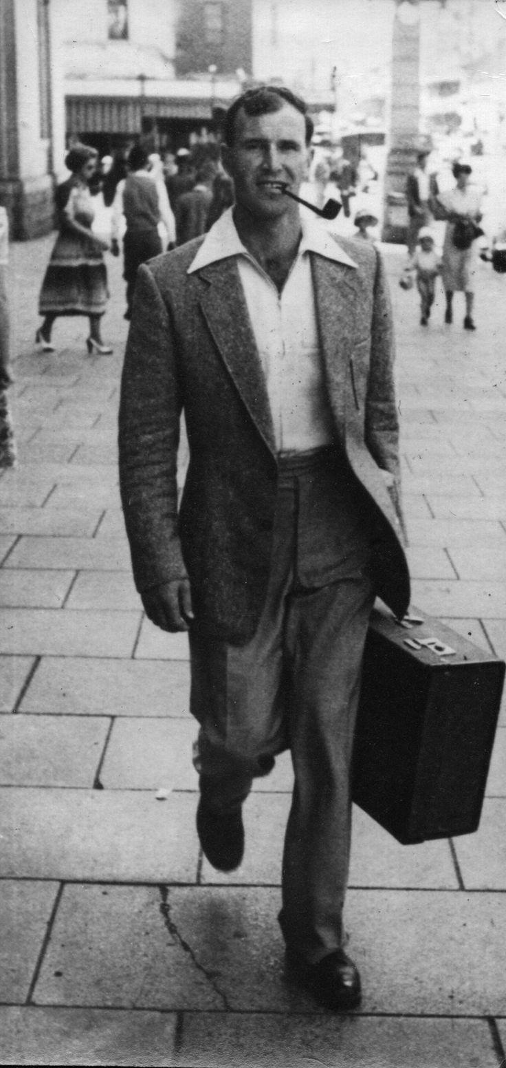 1950 - Heading for Flinders Street Station, Melbourne