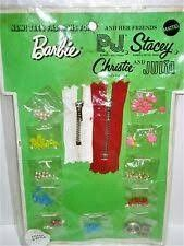 1970 Barbie, P.J., Stacey, Christie & Julia - Stitch 'N Styles (New Teen Fashions For) #