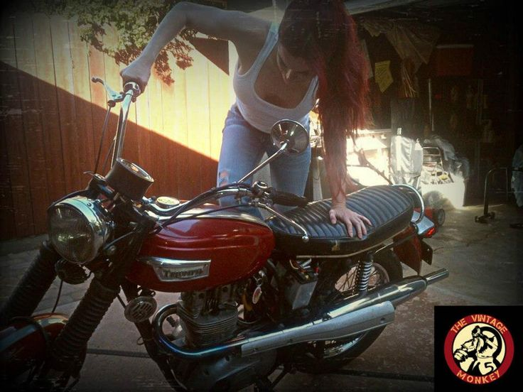 motolady:  Shasta Smith (the Vintage Monkey) motolady, mechanic, and more.