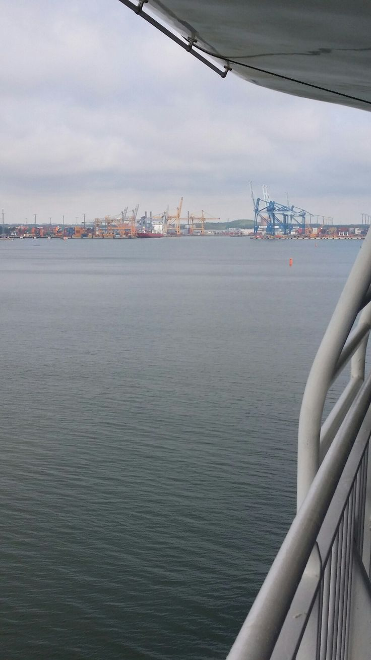 ...june 22nd,Port of Vuosaari,every story has its end even a longest one,mine was 22 days, could have been longer ...but what a trip,no accidents,met old friends and made some new..it was just Great !
