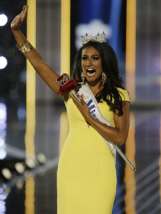 I hope someday this country starts accepting that American is not defined exclusively as blond haired blue eyed/ white skin. Congratulations Miss America 2014 - Nina Davuluri (Miss New York) / Talent - Bollywood Dance / Platform Issue - Celebrating Diversity