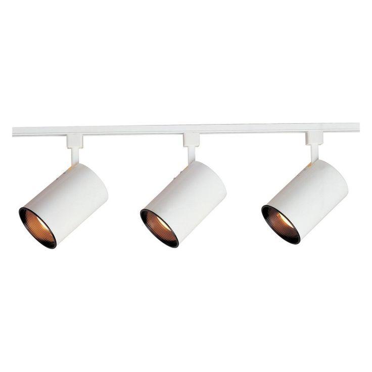 Maxim Galaxie Track Light Kit - 3 Heads - 92315WT