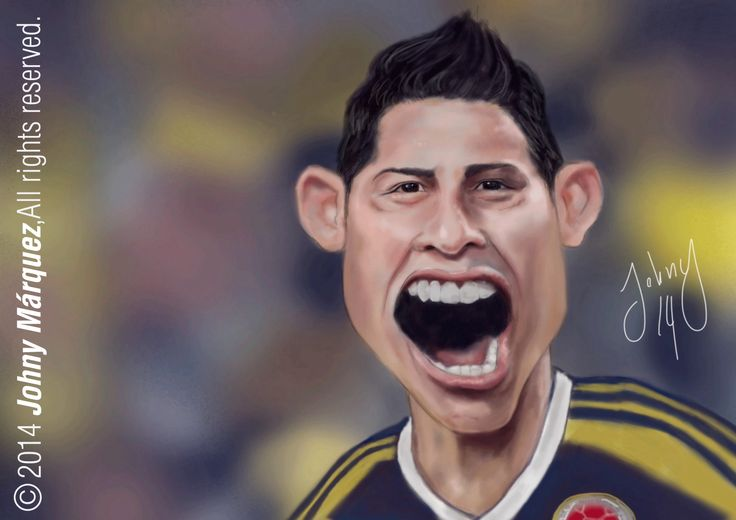 James Rodriguez Phosothop Cc