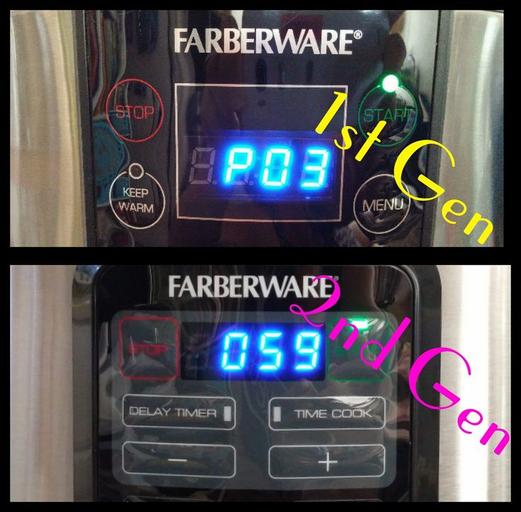 Farberware 7 In 1 Programmable Electric Pressure Cooker Users Group On Facebook Farberware