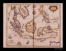 Map of the Indian Ocean and the China Sea was engraved in 1728 by the Ottoman cartographer and publisher Ibrahim Müteferrika; it is one of a series that illustrated Katip Çelebi's Cihannuma (Universal Geography), the first printed book of maps and drawings to appear in the Islamic world