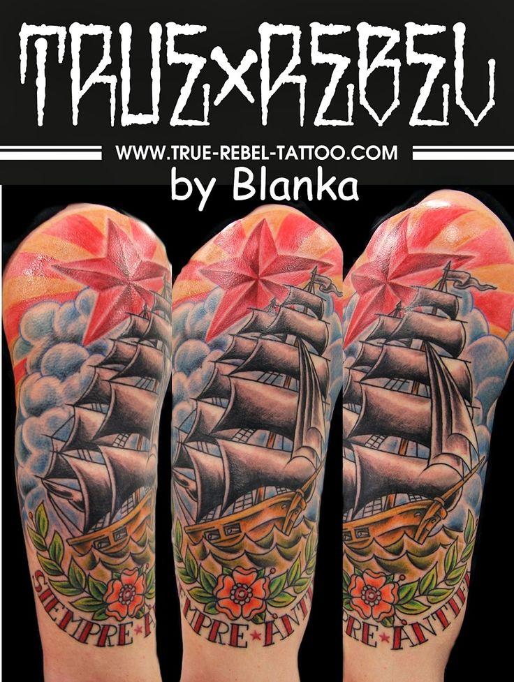 True Rebel Tattoo - Siempre Antifa