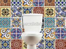 Wandtegels voor Badkamers Deksel Stijl Talavera