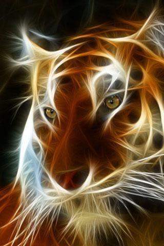 tiger art                                                                                                                                                                                 Más