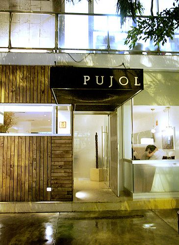 Been there.  Pujol (restaurant), Mexico City.  I can't even find the words to describe the experience - so unforgettable.