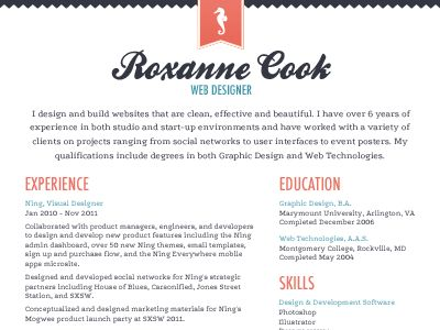 Resume Font Cover Letter - resume font type