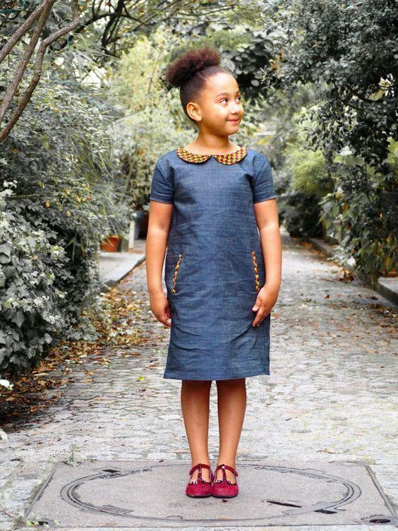 50 Tenues En Pagne Pour Hommes Femmes Et Enfants Couture Fillette
