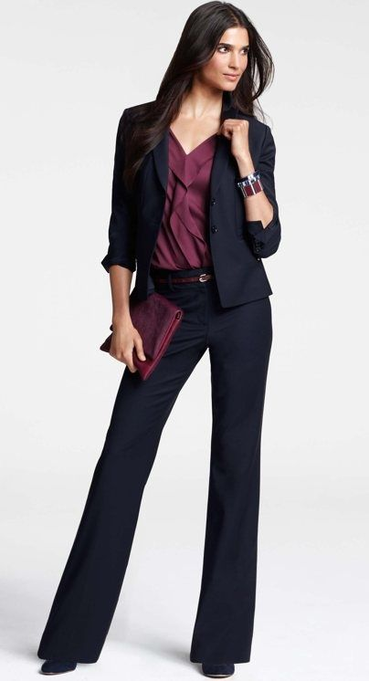 30 Chic and Stylish Interview Outfits for Ladies...you can not go wrong with any of these selections.
