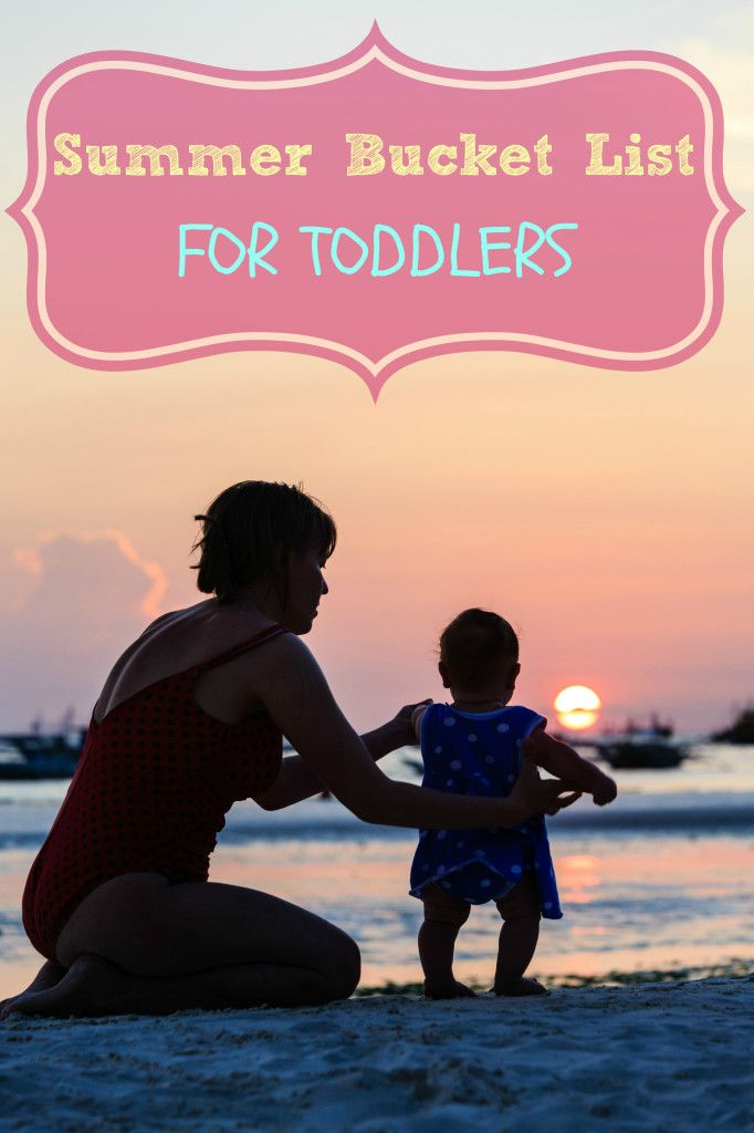 Summer Bucket List For Toddlers - such an amazing list! Can't wait to do them all this summer!
