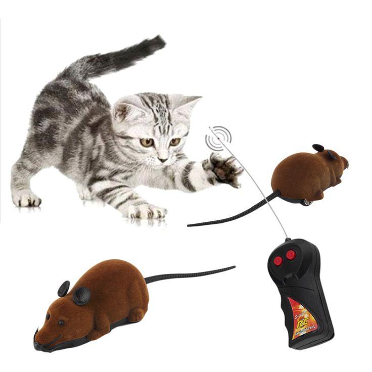 Caldo! spaventoso Telecomando Simulazione Peluche Del Mouse Bambini Giocattoli Regalo per il Gatto Del Cane Nuova Vendita