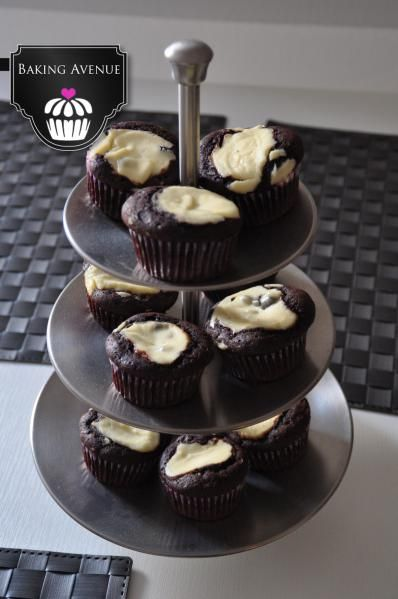 Schoko-Käsekuchen-Muffin