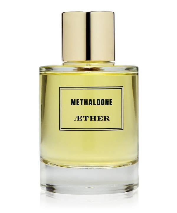Aether's Methaldone is a futuristic fragrance formulated entirely of patented synthetic molecules of Givaudan.