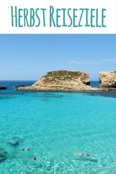 Blaue Lagune, Malta / Herbst Reiseziele: Die schönsten Orte für euren Urlaub