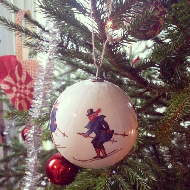 Uncle Blue in a Christmas tree. Elsa Beskow collection from Design House Stockholm.