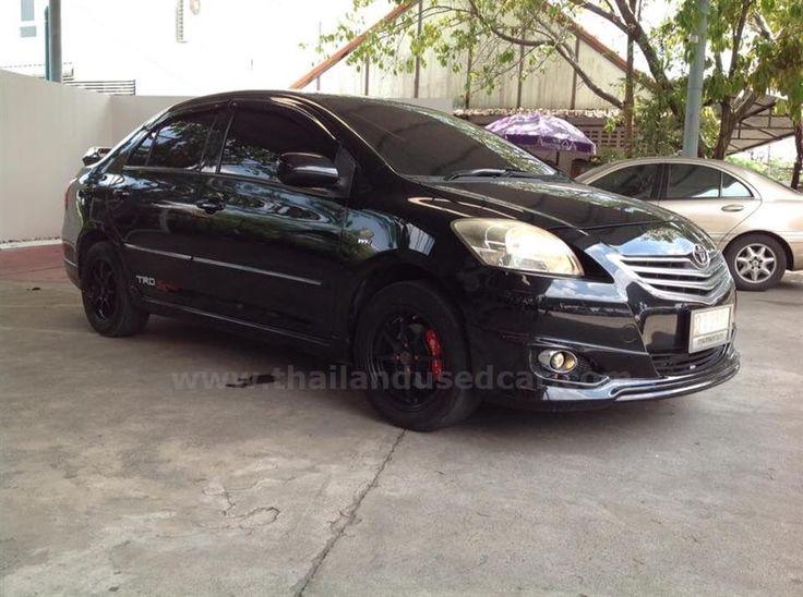 ขายรถเก๋ง TOYOTA VIOS โตโยต้า วีออส รถปี2010 สีดำ รหัสประกาศ 5725