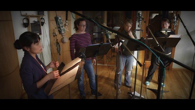 """""""A Blessing of Cranes"""" (Betinis) -- demo recording with Lumina"""