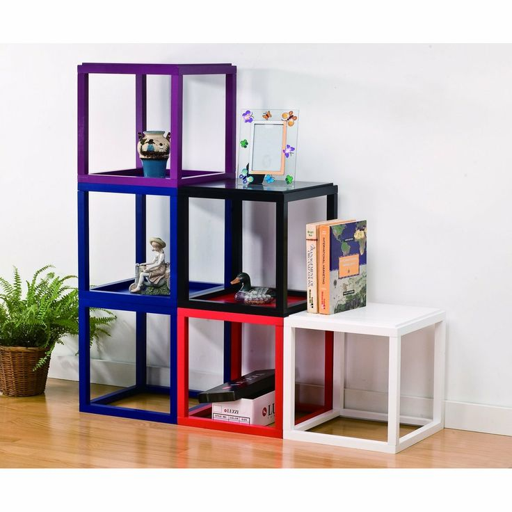 Wood Stackable Display Cube Shelves Stands, Side Table   Stackable Wood  Display Cube, Side Table , This Special Designed Piece Has It All. Availablu2026