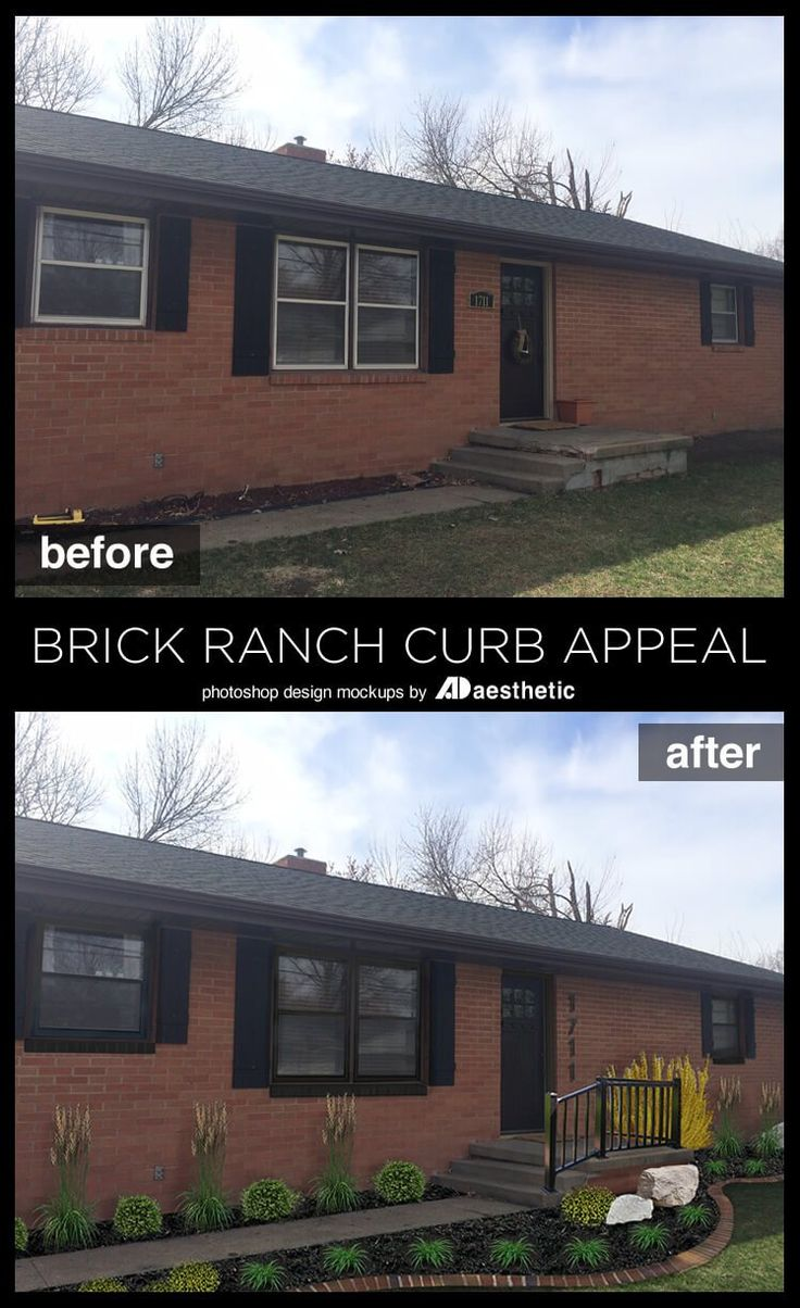 Best 25 Brick Ranch Houses Ideas On Pinterest Ranch