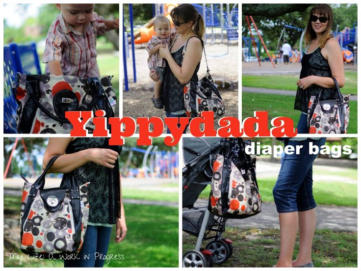 Yippydada- stylish diaper bags for trendy moms http://mylifeaworkinprogress.com/review-chic-baby-changing-bag-by-yippydada/