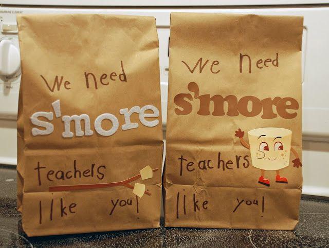 We need S'Mores teachers like you