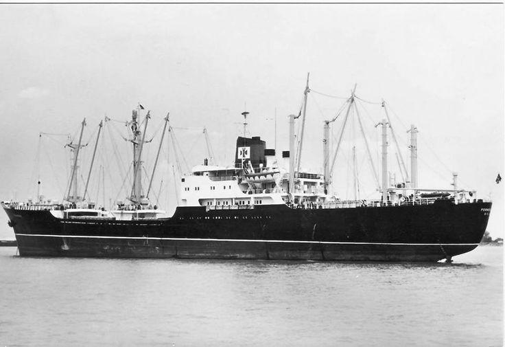 M/S Fernbrook Fearnley & Eger, Kristiania/Oslo bygget i 1960