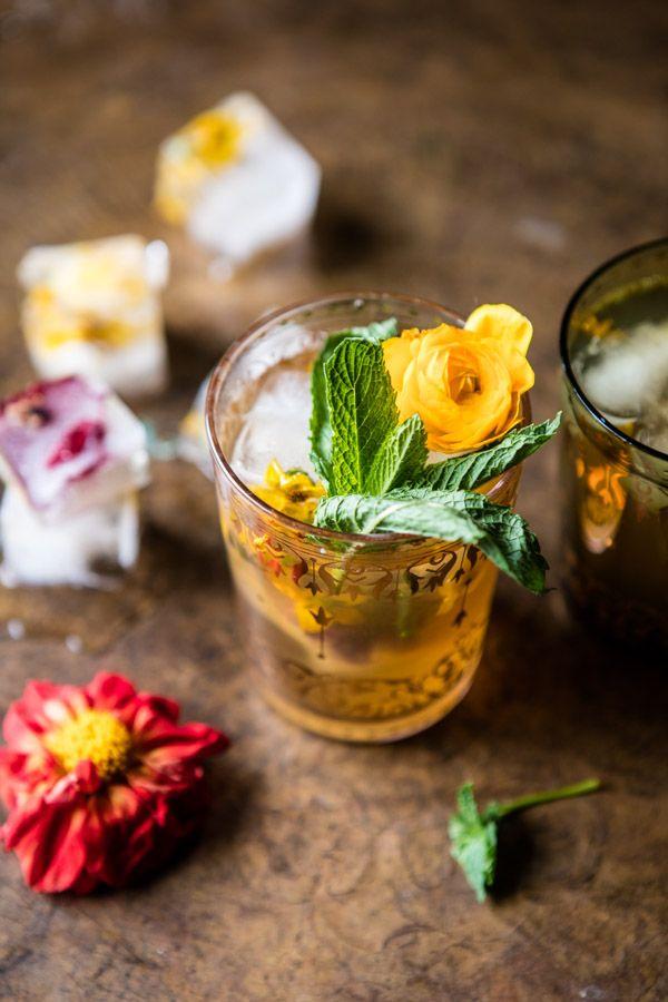 Iced Moroccan Mint Tea