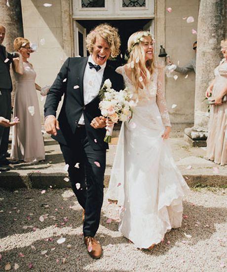 Green Wedding Shoes - French Chateau Wedding